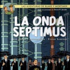 Cómics: LAS AVENTURAS DE BLAKE Y MORTIMER. Nº 22. LA ONDA SEPTIMUS. NORMA 2014. 1ª EDICION. Lote 195182818