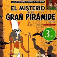 Cómics: LAS AVENTURAS DE BLAKE Y MORTIMER. EL MISTERIO DE LA GRAN PIRAMIDE. TOMO 1. EDGAR P. JACOBS.. Lote 195189938