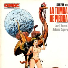 Cómics: SARVAN. LA TUMBA DE PIEDRA. JORDI BERNET - ANTONIO SEGURA. CIMOC EXTRA COLOR Nº 18. NORMA, 1986. Lote 195197311