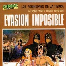 Cómics: LOS ROBINSONES DE LA TIERRA. EVASION IMPOSIBLE. CIMOC EXTRA COLOR Nº 10. NORMA, 1983. Lote 195197867