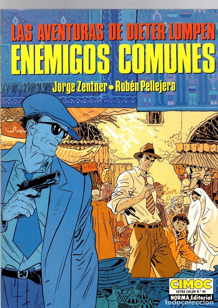 ENEMIGOS COMUNES. LAS AVENTURAS DE DIETER LUMPEN. CIMOC EXTRA COLOR Nº 46. NORMA, 1988 (Tebeos y Comics - Norma - Cimoc)