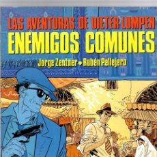 Cómics: ENEMIGOS COMUNES. LAS AVENTURAS DE DIETER LUMPEN. CIMOC EXTRA COLOR Nº 46. NORMA, 1988. Lote 195198260