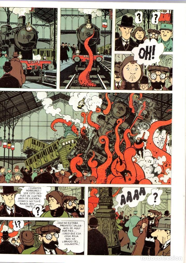Cómics: EL AHOGADO DE DOS CABEZAS. TARDI. LAS EXTRAORDINARIAS AVENTURAS DE ADELE BLANC-SEC. 1985 - Foto 2 - 195198410