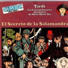 Cómics: EL SECRETO DE LA SALAMANDRA. TARDI. LAS EXTRAORDINARIAS AVENTURAS DE ADELE BLANC-SEC. 1982. Lote 195198686