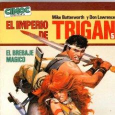 Cómics: EL IMPERIO DE TRIGAN 5 MIKE BUTTERWORTH Y DON LAWRENCE. EL BREBAJE MAGICO. CIMOC EXTRA COLOR Nº 15. Lote 195199360