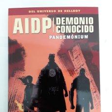 Cómics: AIDP 34: DEMONIO CONOCIDO. PANDEMÓNIUM - MIGNOLA - NORMA. Lote 195253010