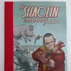 Cómics: THE SHAOLIN COWBOY 03: ¿QUIÉN PONDRÁ FIN AL REINADO? - DARROW, STEWART - NORMA EDITORIAL. Lote 195253542