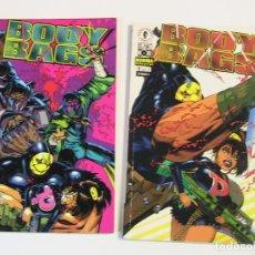 Cómics: BODY BAGS. COMPLETA. 2 NÚMEROS. NORMA, 1997.. Lote 195256692
