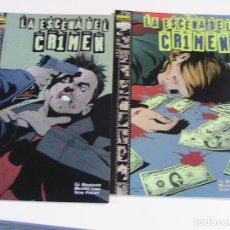 Cómics: LA ESCENA DEL CRIMEN. COMPLETA. 2 NÚMEROS. NORMA, 2000.. Lote 195315091