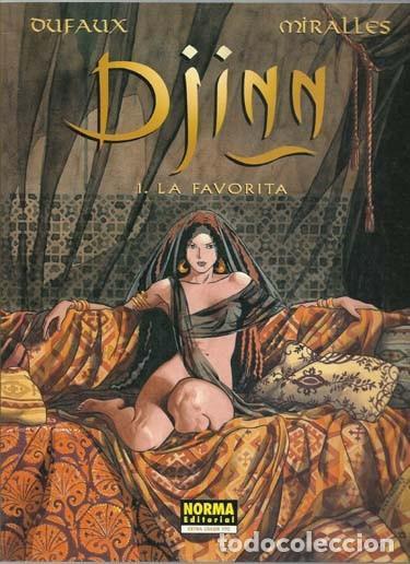 DJINN 1: LA FAVORITA, 2002, NORMA PRIMERA EDICIÓN, BUEN ESTADO (Tebeos y Comics - Norma - Comic Europeo)