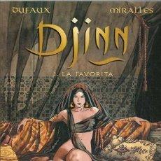 Cómics: DJINN 1: LA FAVORITA, 2002, NORMA PRIMERA EDICIÓN, BUEN ESTADO. Lote 195316053