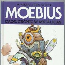 Cómics: MOEBIUS METAL HURLANT 9: CAOS / CRÓNICAS METÁLICAS, 2013, PRIMERA EDICIÓN, NORMA.. Lote 195316515