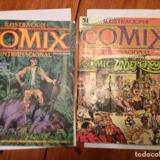 Cómics: COMIC COMIX Nº 51 -53 - LOTE 2 REVT,. Lote 195316561