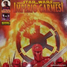 Cómics: STAR WARS IMPERIO CARMESÍ 1. Lote 195317938