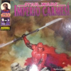 Cómics: STAR WARS IMPERIO CARMESÍ 2. Lote 195318116