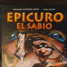 Cómics: EPICURO EL SABIO. NORMA. SAM KIETH. DESCATALOGADO. Lote 195332738