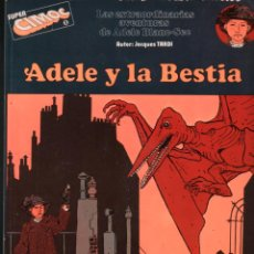 Cómics: SUPER CIMOC Nº 1 JACQUES TARDI. ADELE Y LA BESTIA. RIEGO EDICIONES. Lote 195346563