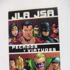 Cómics: JLA JSA. PECADOS Y VIRTUDES. NORMA, 2003.. Lote 195356518