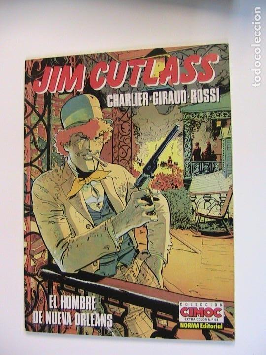JIM CUTLASS. EL HOMBRE DE NUEVA ORLEANS. NORMA, 1992. (Tebeos y Comics - Norma - Comic Europeo)