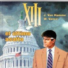 Cómics: XIII. Nº 19 EL ULTIMO ASALTO. W. VANCE - J. VAN HAMME. NORMA, 2008. 1ª EDICION. Lote 195388943