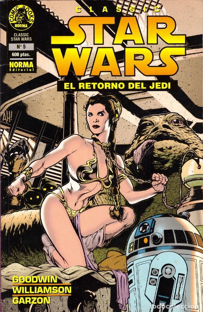 COMIC CLASSIC STAR WARS, Nº 5: EL RETORNO DEL JEDI (PARTE I) - NORMA EDITROIAL (Tebeos y Comics - Norma - Comic USA)
