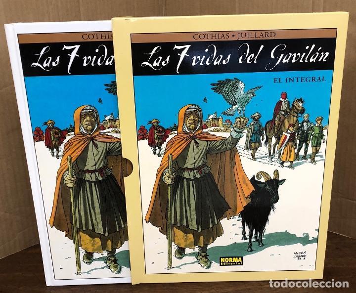 LAS 7 VIDAS DEL GAVILAN. EL INTEGRAL. COTHIAS - JUILLARD. NORMA, 2009. 2ª EDICION (Tebeos y Comics - Norma - Comic Europeo)