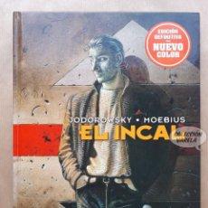 Cómics: EL INCAL - JODOROWSKY Y MOEBIUS - NORMA - EDICIÓN DEFINITIVA NUEVO COLOR - CARTONÉ - JMV. Lote 195418968