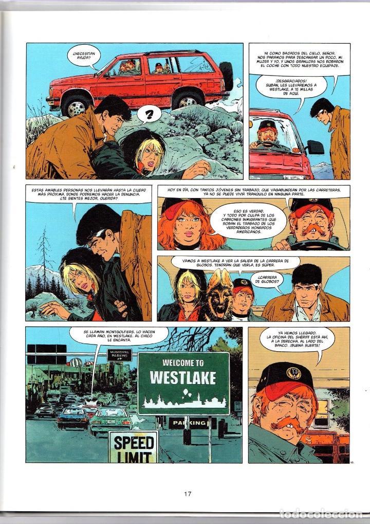 Cómics: XIII. Nº 15. SOLTAD A LOS PERROS. W. VANCE - J. VAN HAMME. NORMA, 2003. 1ª EDICION - Foto 2 - 195449591