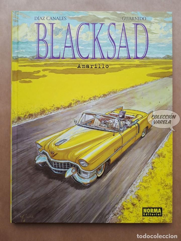 BLACKSAD 5 - AMARILLO - DÍAS CANALES Y GUARNIDO - NORMA - CARTONÉ - JMV (Tebeos y Comics - Norma - Comic Europeo)