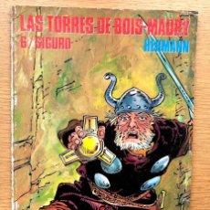 Cómics: LAS TORRES DE BOS-MAURY / TOMO 6 / SIGURD / HERMANN / CIMOC / NORMA /. Lote 195485405