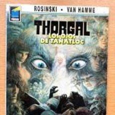 Cómics: THORGAL / TOMO 9 / LOS OJOS DE TANATLOC / ROSINSKI Y VAN HAMME / NORMA / PANDORA /. Lote 195486215