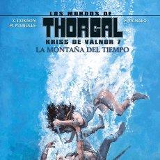 Cómics: CÓMICS. LOS MUNDOS DE THORGAL. KRISS DE VALNOR 7. LA MONTAÑA DEL TIEMPO - DORISON/MARLOLLE (CARTONÉ). Lote 195549702