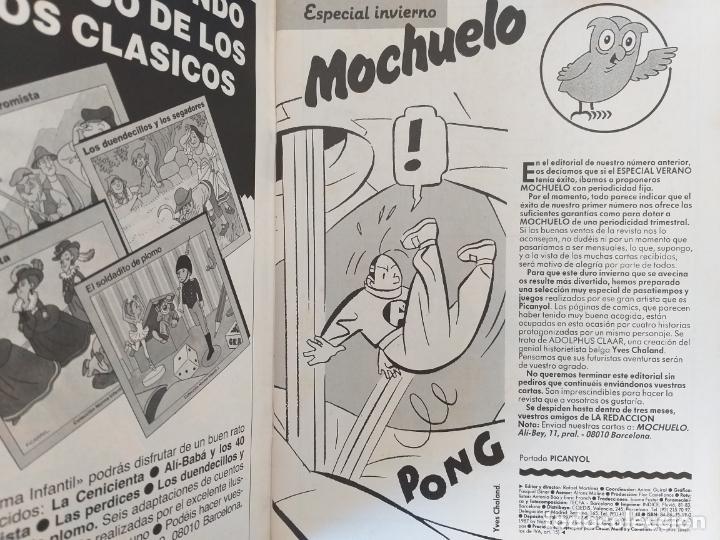 Cómics: MOCHUELO. ESPECIAL INVIERNO. EDITORIAL NORMA. - Foto 2 - 195922020