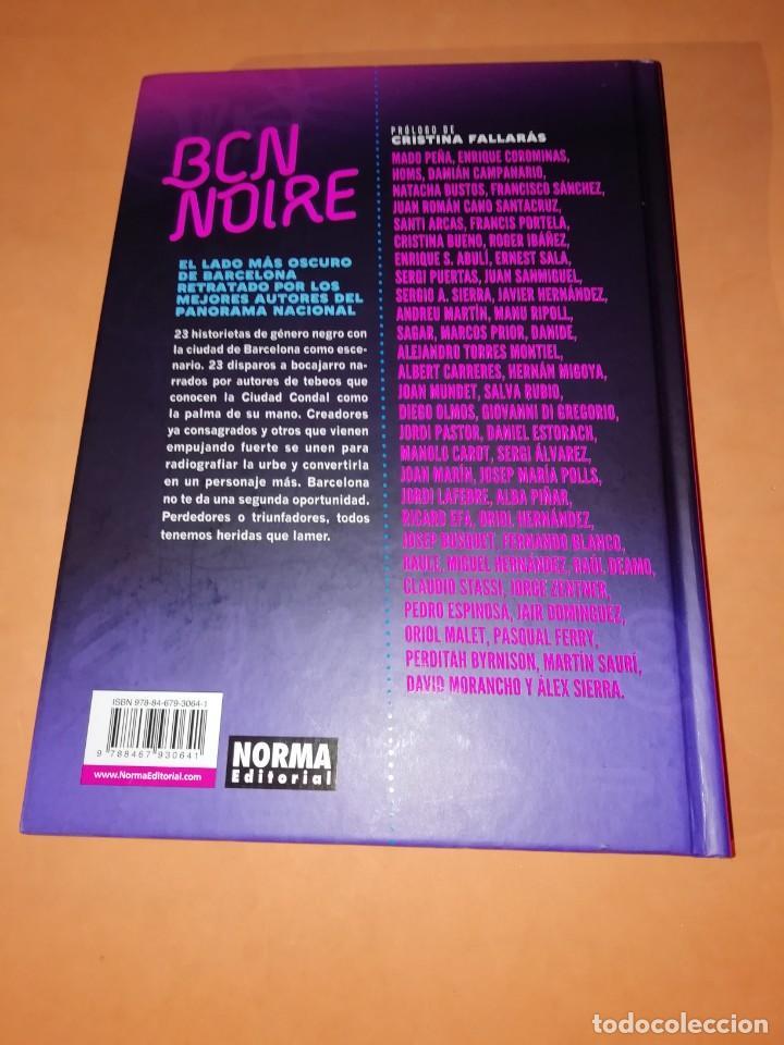 Cómics: BCN NOIRE. 23 HISTORIETAS DE GENERO NEGRO AMBIENTADAS EN LA CIUDAD CONDAL.NORMA 2018 - Foto 2 - 195989450