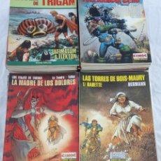 Cómics: LOTE DE 62 NÚMEROS CIMOC EXTRA COLOR. LAS TORRES DE BOIS-MAURY, LAS 7 VIDAS DEL GAVILÁN, LA MAZMORRA. Lote 196010393