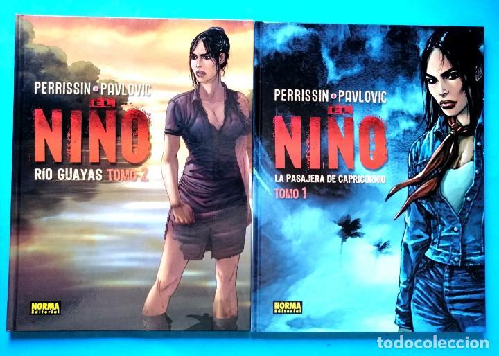 EL NIÑO - TOMO 1 Y 2 (COMPLETA) PERRISSIN- PAULOVIC) NORMA 2006 ''MUY BUEN ESTADO'' (Tebeos y Comics - Norma - Comic Europeo)