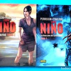 Cómics: EL NIÑO - TOMO 1 Y 2 (COMPLETA) PERRISSIN- PAULOVIC) NORMA 2006 ''MUY BUEN ESTADO''. Lote 196304582