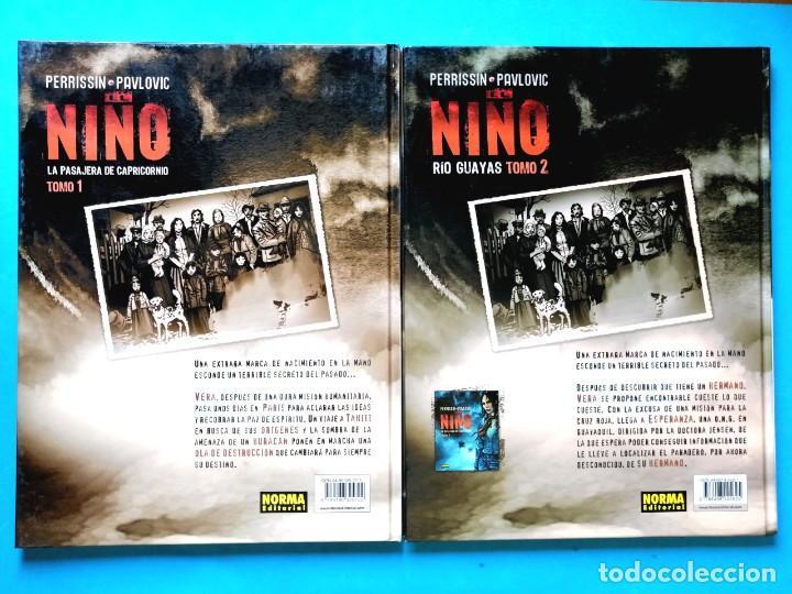 Cómics: EL NIÑO - TOMO 1 Y 2 (COMPLETA) PERRISSIN- PAULOVIC) NORMA 2006 MUY BUEN ESTADO - Foto 2 - 196304582