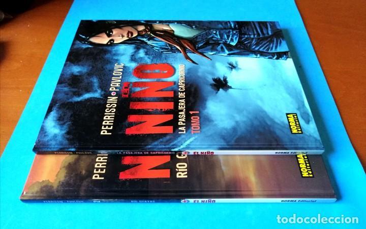 Cómics: EL NIÑO - TOMO 1 Y 2 (COMPLETA) PERRISSIN- PAULOVIC) NORMA 2006 MUY BUEN ESTADO - Foto 3 - 196304582