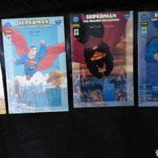 Cómics: SUPERMAN LAS CUATRO ESTACIONES NORMA Y VID DC COMPLETA. Lote 196398856