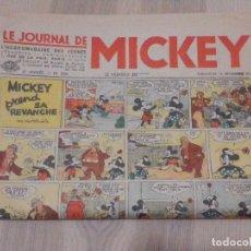 Cómics: ANTIGUO TEBEO - COMIC EN FRANCÉS - LE JOURNAL DE MICKEY - AÑO 6 Nº 266 - 28 X 42 CM, NOVIEMBRE 1939 . Lote 196638810