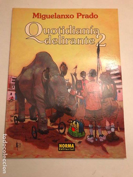 MIGUELANXO PRADO Nº 7. QUOTIDIANIA DELIRANTE 2. NORMA 2000. NUEVO (Tebeos y Comics - Norma - Comic Europeo)