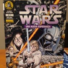 Cómics: CLASSIC STAR WARS: UNA NUEVA ESPERANZA. NORMA EDITORIAL, 1996. NÚMERO 1. Lote 196796082