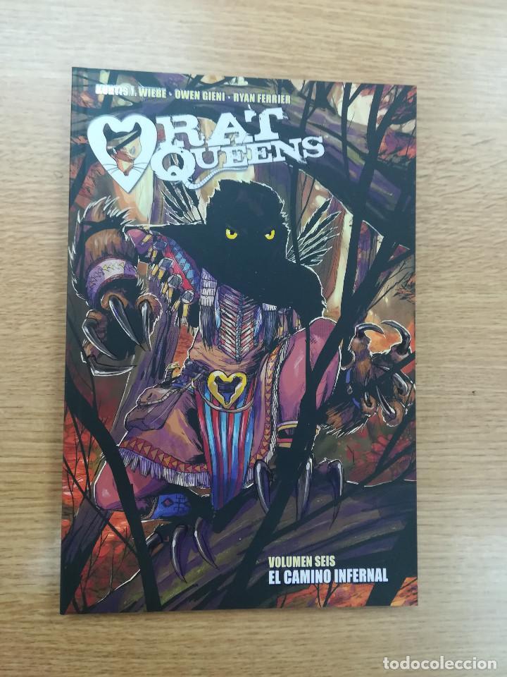 RAT QUEENS #6 EL CAMINO INFERNAL (Tebeos y Comics - Norma - Comic USA)