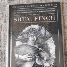 Cómics: LOS HECHOS SOBRE EL CASO DE LA DESAPARICION DE LA SRTA. FINCH NORMA EDITORIAL. Lote 197159837