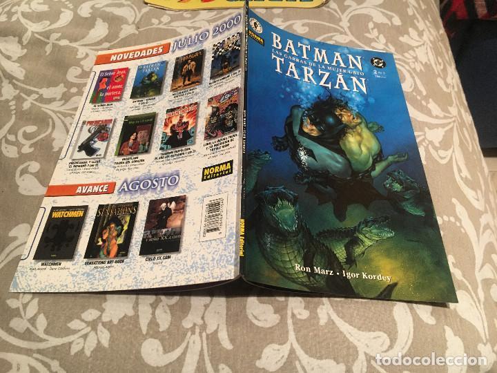 BATMAN / TARZAN TOMO 2 DE 2 - LAS GARRAS DE LA MUJER GATO - NORMA EDITORIAL (Tebeos y Comics - Norma - Otros)
