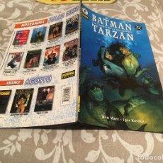 Cómics: BATMAN / TARZAN TOMO 2 DE 2 - LAS GARRAS DE LA MUJER GATO - NORMA EDITORIAL. Lote 197283062