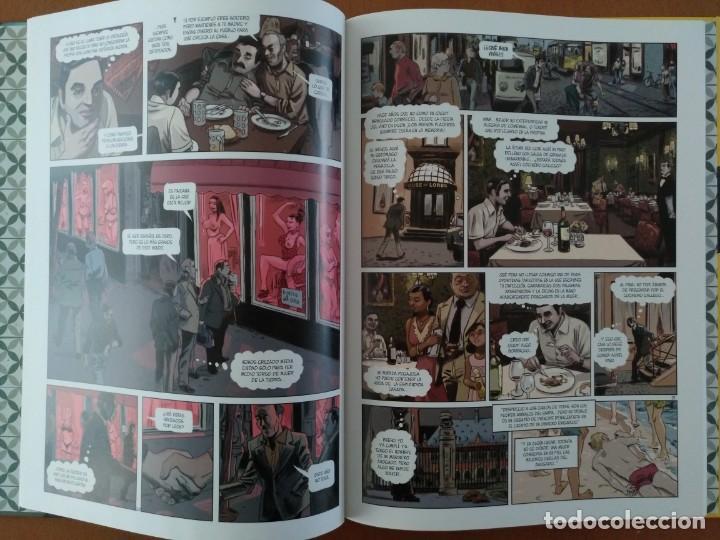 Cómics: COMIC CARVALHO. TATUAJE - Manuel Vázquez Montalbán/Hernán Migoya/Bartolome Seguí (Cartoné) - Foto 3 - 197395551