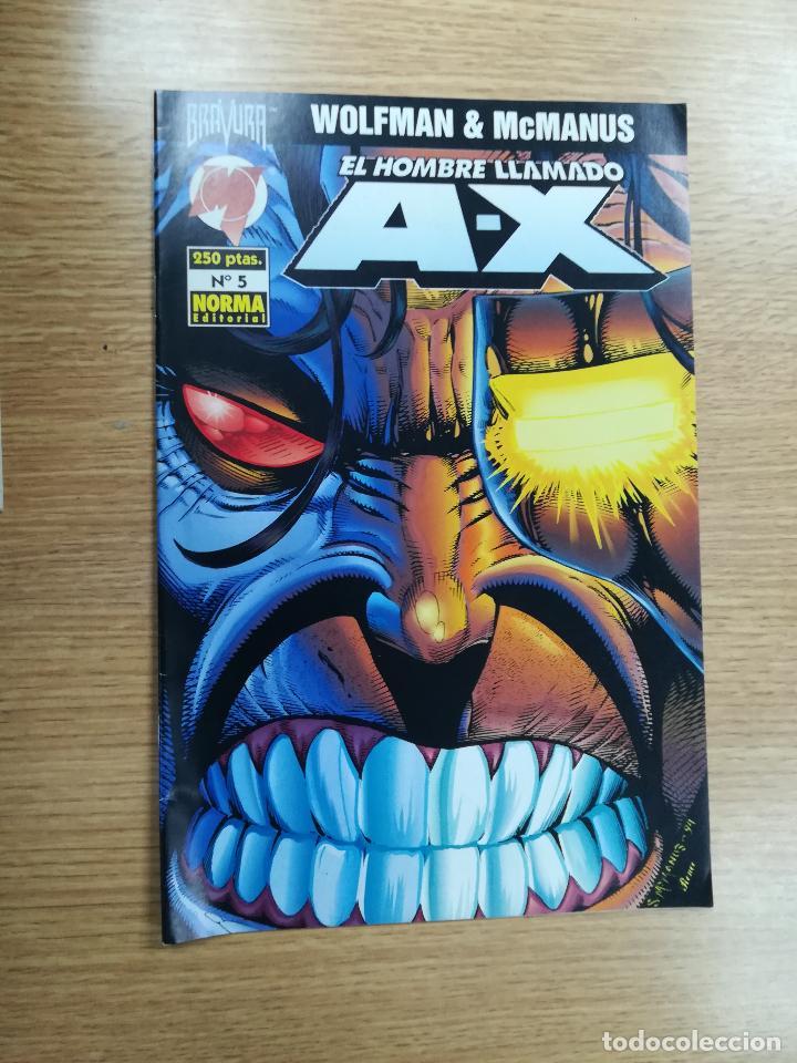 EL HOMBRE LLAMADO A-X #5 (Tebeos y Comics - Norma - Comic USA)