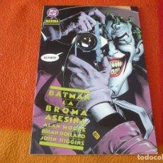 Cómics: BATMAN LA BROMA ASESINA ( ALAN MOORE BOLLAND ) ¡MUY BUEN ESTADO! DC NORMA. Lote 197641210